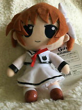 Nanoha Takamachi Seifuku Nendoroid Plush - Authentic Gift Company product Japan