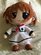 Nanoha Takamachi Seifuku Nendoroid Plush - Authentic Gift Company product Japan