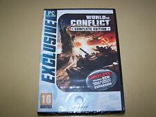 World in Conflict: Complete Edition  PC DVD-ROM **New & Sealed**