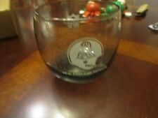 New England Patriots Vintage Smoked Tumbler Throwback Drinking Bar Glass NFL