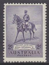 1935 Silver Jubilee King George V 2/- Violet MH SG 158 (250)