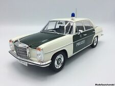 Mercedes 220 /8 (W115) 1973  Strich 8  POLIZEI - 1:18 MCG