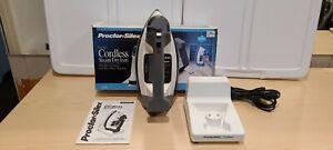 Proctor Silex Full Cordless Steam Dry Iron Steam SilverStone Soleplate 11100