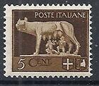1929-42 REGNO IMPERIALE 5 CENT MNH ** - RR12580