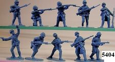 Armies In Plastic 5404 - WW1 French Army In Khaki Plastic Figures-Wargaming