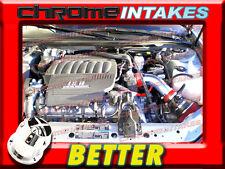 CF RED 04-08 PONTIAC GRAND PRIX GT GT1/2 GTP GXP 3.8L V6  5.3L V8 AIR INTAKE TB