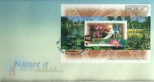 1997 Pacific 97 overprint minisheet on First Day Cover with special cancel. RARE