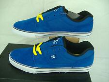 New Mens 12 DC Tonik Blue Suede Leather Skate Shoes $55