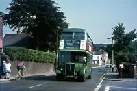 London RT635 Near Brentwood Station 1970 Bus Photo