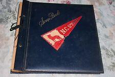 VINTAGE 1950-1951 NORTH CAROLINA STATE BASKETBALL TEAM SCRAPBOOK