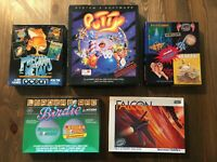 Commodore Amiga Game Bundle Putty Falcon Birdie Precious Metal Karate Kid 2
