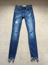 HIDDEN JEANS  Distressed Skinny Jeans W24
