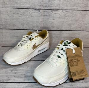 Nike Air Max 90 SE Sail Cork White DD0384-100 New Women's Shoes Size 7.5 No Lid