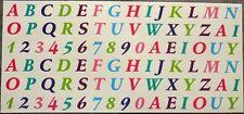 88 x Sticker Aufkleber + Outdoor Wetterfest + Buchstaben und Zahlen + Version 3