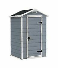 Keter Manor 4 x 3 ft Plastic Garden Storage Shed