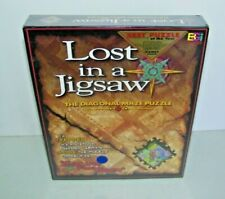 Lost In A Jigsaw Puzzle Esape From Eden The Diagonal Maze 515 Pc. Puzzle NEW