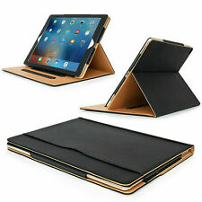 Leather TAN Magnetic Case Cover For Samsung Tab A710.4 2020 T500/T505 T515 P610