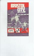 Bristol City League Cup Home Teams A-B Football Programmes