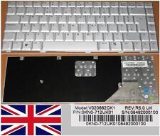 Tastiera Qwerty REGNO UNITO ASUS W3 W3A W3000 A8F A8J F8 Z99 V020662CK1