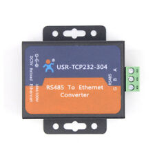 USR-TCP232-304 Serial RS485 to TCP/IP Ethernet Server Converter Module Webpage