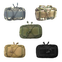 Water Resistance Tactical MOLLE Small Utility Pouch Running Travel Hunting