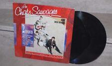 Les chats sauvages avec dick rivers (double LP) enregistrements originaux