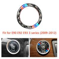 M-Circle Trim For BMW E90 E92 E93 Engine Switch Start Stop Button Carbon Fiber
