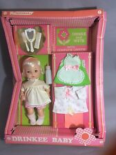 Vintage Horsman Doll Drinkee Baby Style #7732 Layette Wets&wets