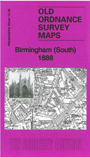 Old Ordnance Survey Map Birmingham South 1888 Balsall Heath Sparkbrook Edgbaston
