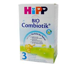 600g HiPP Bio Combiotik Lait de Suite 3 Utilisation Ab 10. Mois Bien Remplissage