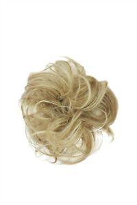 Postiche : Cheveux Synthétiques Scrunchy Bandeau Queue de Cheval Blonde Mélange