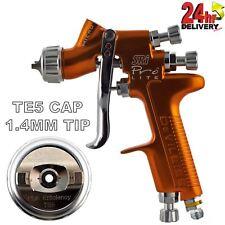 DeVilbiss SRI Pro Lite TE5 Air Cap 1.4mm Fluid Tip Gravity Air Spray Paint Gun