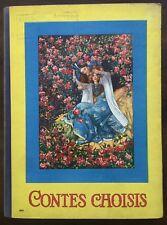 Jugendstil Märchen Grimm - Contes Choises Schneewittchen Gestiefelte Kater. 1900