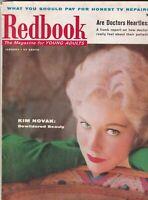 Redbook Mag Kim Novak And Doctors January 1957 092619nonr