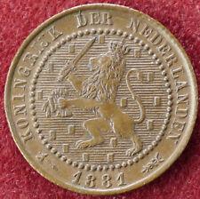 Netherlands 1 Cent 1881 (D2004)