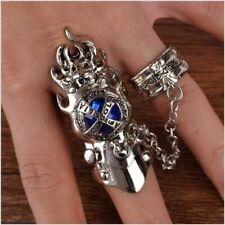 Anime Katekyo Hitman Reborn Finger Rings Vongola Famiglia Cosplay Gem Ring