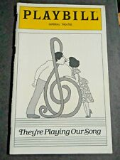 December - 1980 - The Imperial Theatre Playbill - They're Playing Our Song