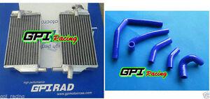 FOR Honda CR 250 R CR250 CR250R 2002-2004 2003 aluminum radiator&silicone hose