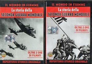@R4 Il Mondo in fiamme Storia della seconda guerra mondiale DVD Vol. 1 e 2