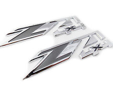 2pcs Chrome for GMC Chevy Silverado Sierra Tahoe Suburban Z71 4x4 Emblems