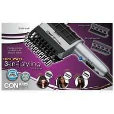 Conair 1875 Watt 3-in-1 Unisex Hair Styler Dryer 1 ea (Pack of 4)