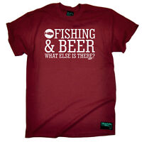 Fishing T-Shirt Funny Novelty Mens tee TShirt - Fishing And Beer What Else Is Th