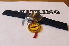 100% Genuino Nuevo Breitling Azul Correa de implementación de Buzo Pro Acanalado & Broche 22-20m