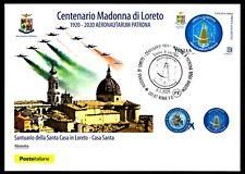 Italia 2020 : Madonna di Loreto / Aviatori - Cartolina Ufficiale Poste Italiane