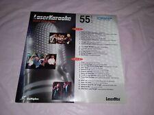 Pioneer LaserKaraoke Volume 55 Laserdisc 28 hit Songs rock pop R&B Rare English