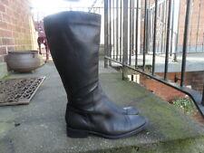 Vintage Valeria black leather boots Size 7 (40)