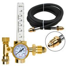 Argon Mig Tig Flow Meter Regulator Welding Gas Welder Gauge 10ft Gas Hose