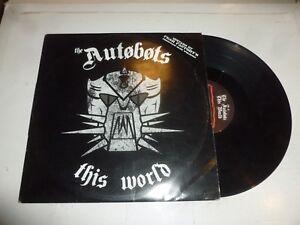 "THE AUTOBOTS - This World - 2006 UK 2-track 12"" vinyl Single"
