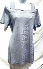plus sz XS (14) TAKING SHAPE Diamond In The Rough Tunic Top NWT! Rrp110