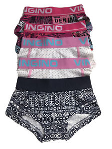 VINGINO Mädchen 2tlg Set Boxershort Slips Shorts Unterhose MINIME dark blue